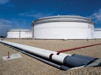 Uskladňovací nádrže na ropu