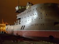 Loď sloužící k výstavbě větrných elektráren na moři