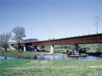 Highway bridge Odra on D47