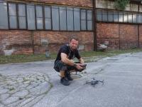 Boris Renner a dron